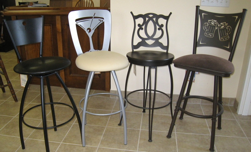 Trica Bar Stools in Circle